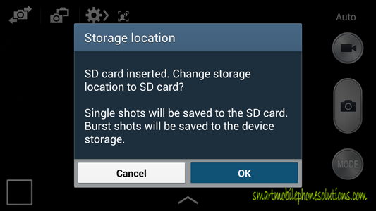 How To Set Up The Samsung Galaxy S 4 Camera Picture Storage